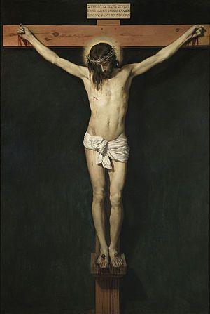 Cristo crucificado (1631) – Oil on canvas, 248 x 169 cm, Museo del Prado, Madrid