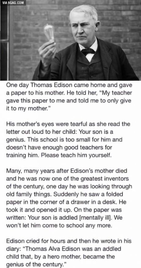 Thomas Edison Get Inspired by Real Heroes