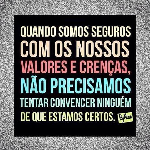 #segurança #crença