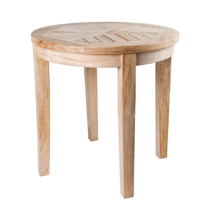 15 best images about teak furniture on pinterest outdoor for Outdoor teak side table