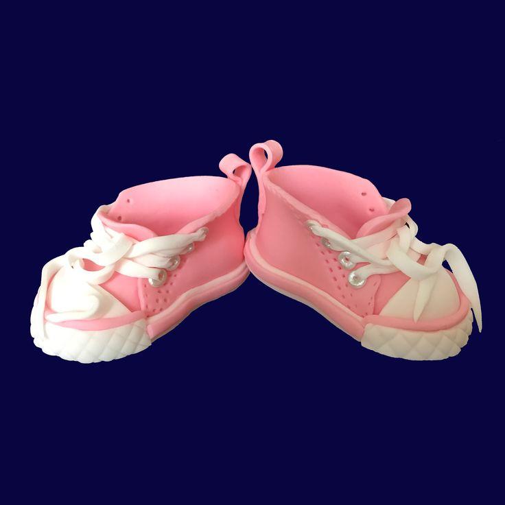 Baby Chucks Shoes Fondant