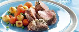 Gestoomde Varkenshaas met pesto en ham