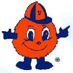 Syracuse Orange. Otto the Orange: Colleges Mascot, Syracus Orange Otto, Style, Sports, Eight In Amber, File Ottotheorang Svg, Coolest Colleges, Colleges Years, Favorite Mascot