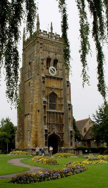 Evesham Bell Tower, Worcester - During the Dissolution of the Monasteries of the 16th century, on its surrender to the king in 1540, the abbey was plundered and demolished by the townsfolk. Only the bell tower survives.