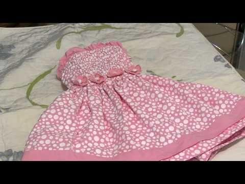 Vestido infantil - YouTube