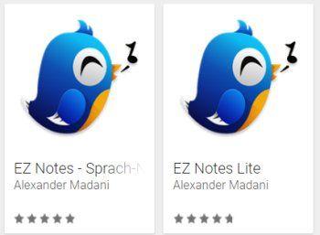 """Gratis: Sprachnotiz-App """"EZ Notes"""" bei Google Play für 0 Euro https://www.discountfan.de/artikel/tablets_und_handys/gratis-sprachnotiz-app-ez-notes-bei-google-play-fuer-0-euro.php Die Sprach-Notizen-App """"EZ Notes"""" ist jetzt bei Google Play für kurze Zeit komplett gratis zu haben – normalerweiste kostet das Tool über drei Euro. Gratis: Sprachnotiz-App """"EZ Notes"""" bei Google Play für 0 Euro (Bild: Google Play) Die Gratis-App """"EZ... #And"""