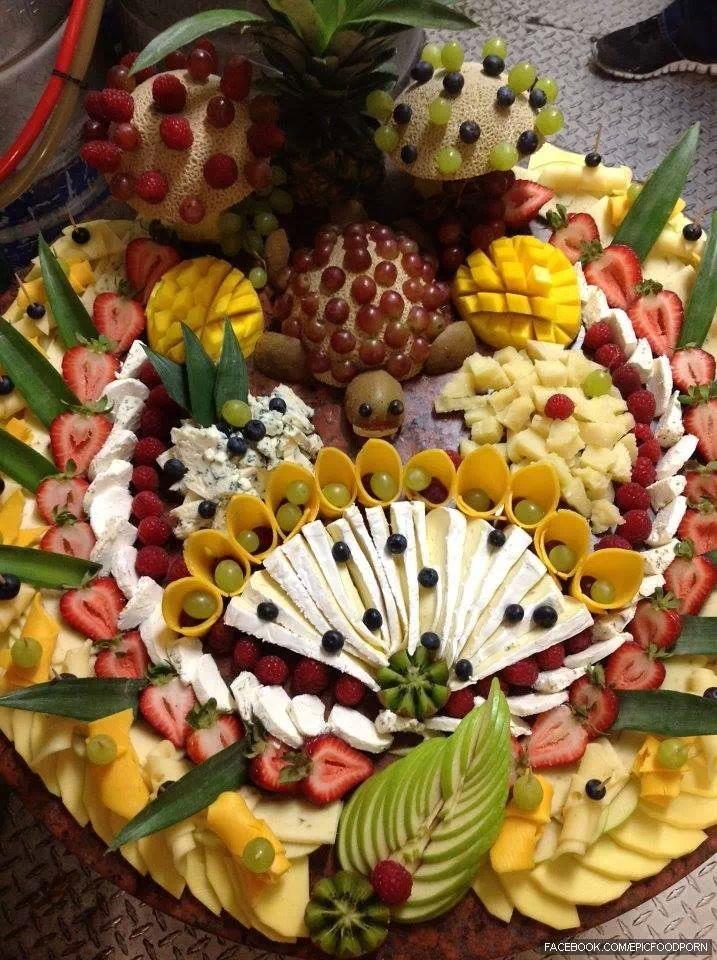 #Fruits n #Cheese #platter