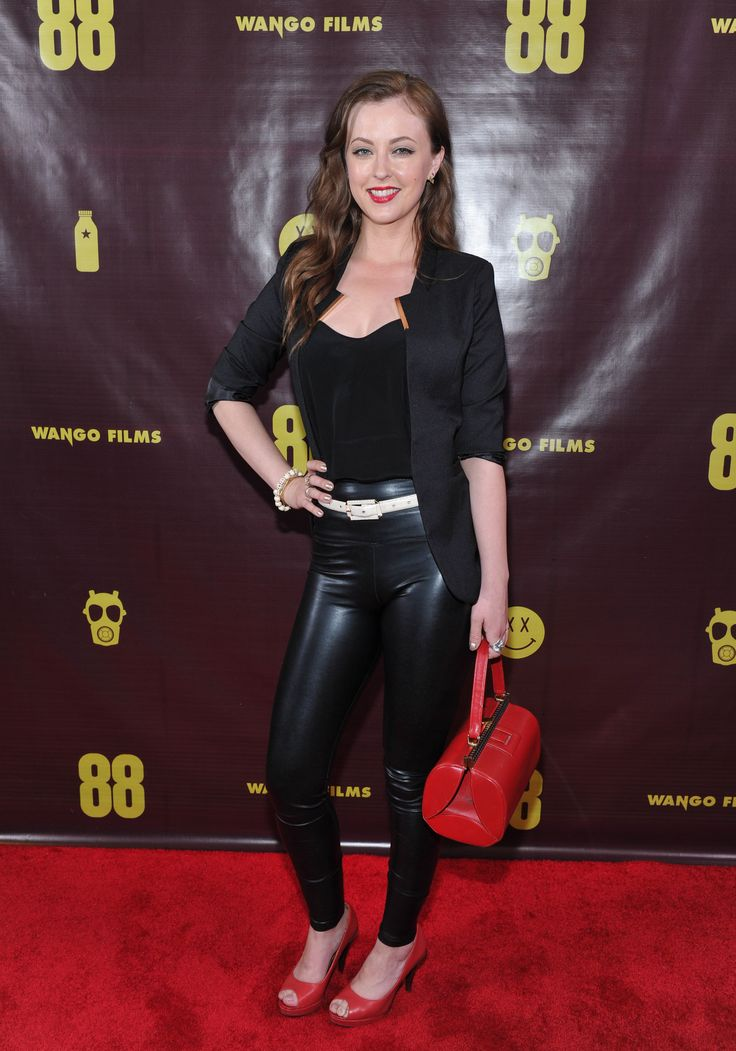 Pin by CHUNK BAIN on LEATHER LOOK | Katharine isabelle ...