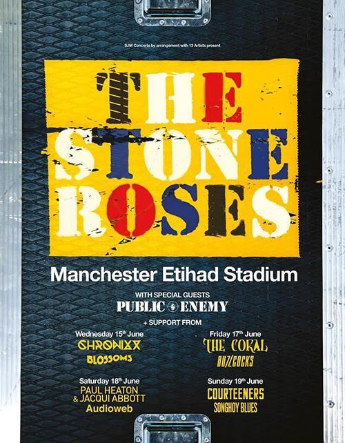 GoRockfest.Com: The Stone Roses Tour Dates 2016