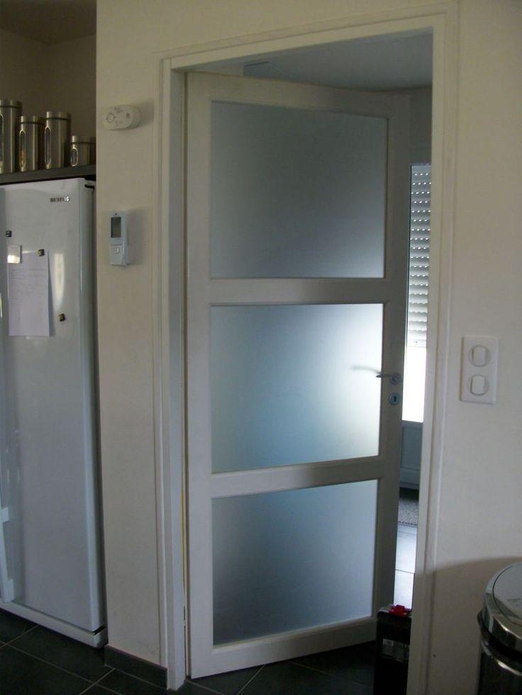 awesome porte vitree salle de bain #1:  rénovation de salle de