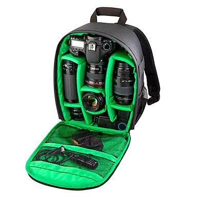 Photography Multi-functionalDigital DSLR Camera Bag Backpack Waterproof Photo Camara Bags Case Mochila for Photographer - USD $ 30.99