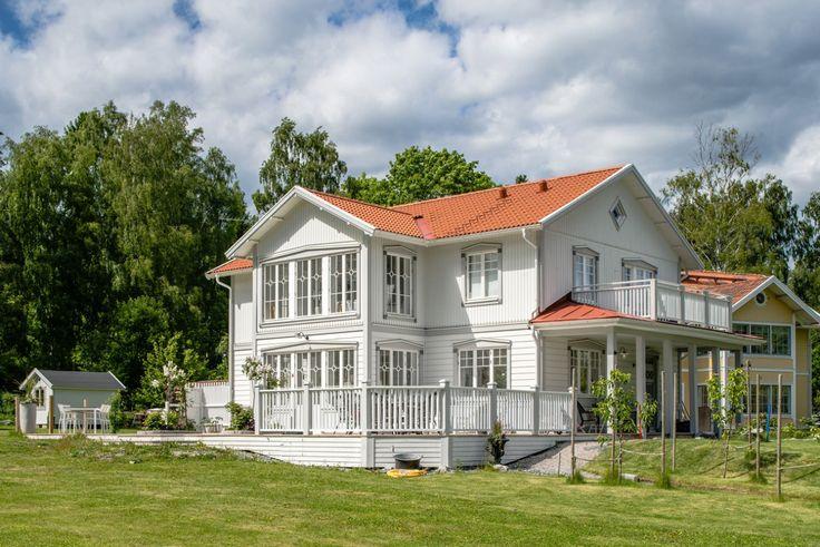 Objekt 1496 - Objekt 1496 | Sköna Hus | Bygga Hus, Arkitektritade Hus, Hem, Hus, Villa, Arkitekter, Husknuten