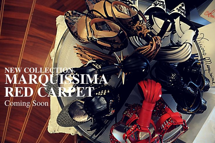 """""""Marquissima Red Carpet"""" The new #shoes #collection by @Lesjeuxdumarquis"""