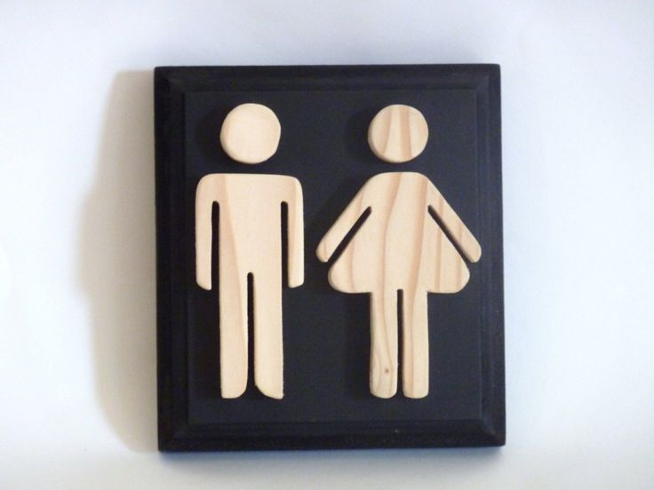 Wooden+black+bathroom+sign+toilet+sign+for+by+Melcreationsbois,+€21.00
