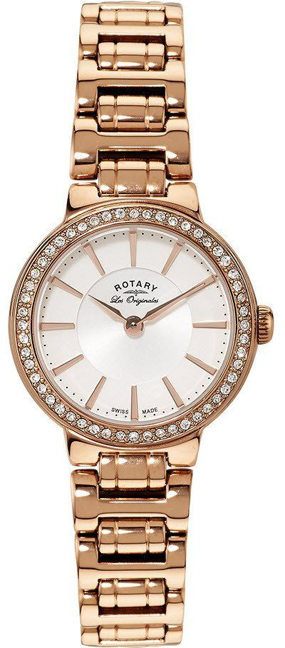 Rotary Watch Les Originales Ladies #add-content #bezel-fixed #bracelet-strap-gold #brand-rotary #case-depth-10mm #case-material-rose-gold #case-width-27mm #classic #delivery-timescale-1-2-weeks #dial-colour-white #gender-ladies #movement-quartz-battery #official-stockist-for-rotary-watches #packaging-rotary-watch-packaging #style-dress #subcat-les-originales #supplier-model-no-lb90085-02 #warranty-rotary-official-lifetime-guarantee #water-resistant-waterproof