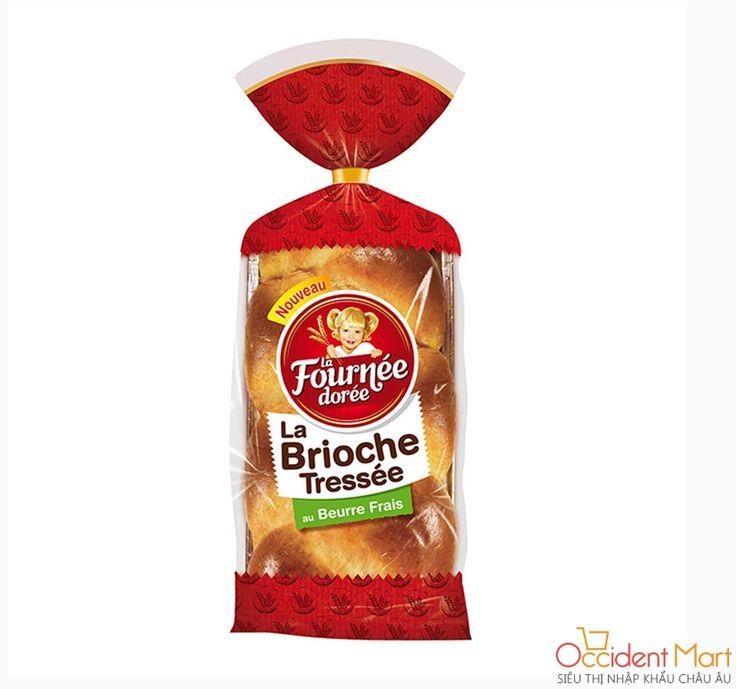 Bánh mỳ nâu bơ tươi La fournée dorée 400g Mã sản phẩm: 3587220002054 Giá: 130.000 đ  Thương hiệu:  La fournée dorée Xuất xứ: Pháp