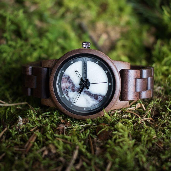 Denali (Walnut/Marble)   Holzkern Wood Watches
