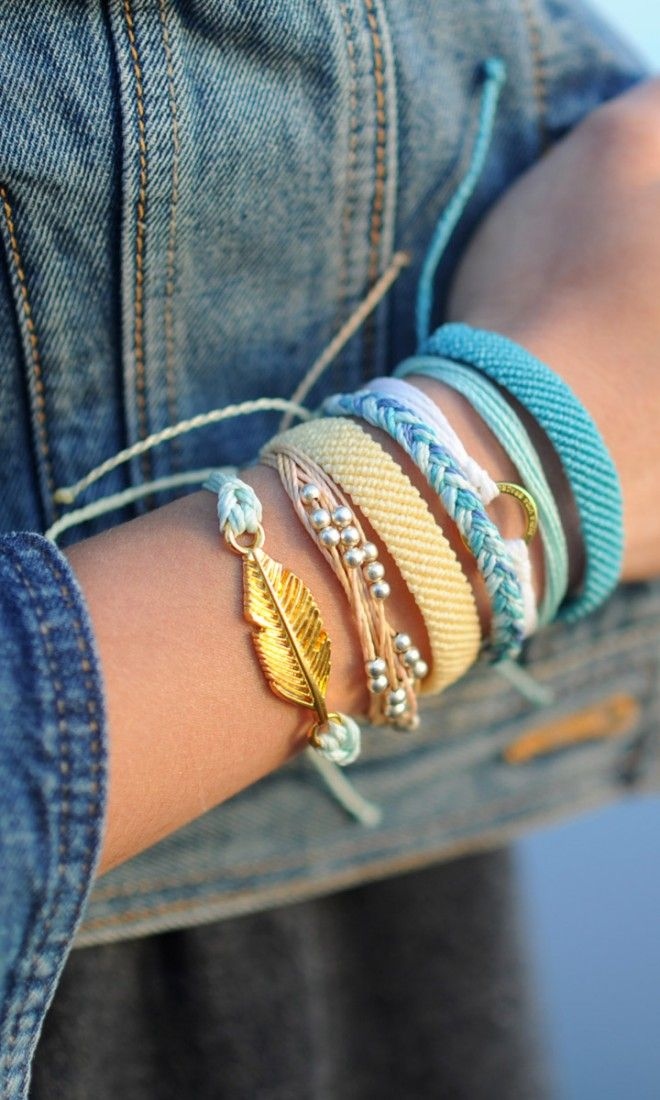 Turquoise accessories and style packs (Pura Vida Bracelets)