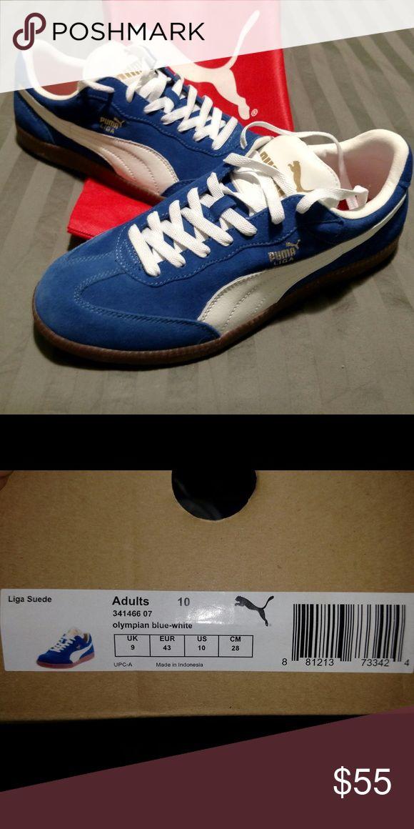 BNIB PUMA Liga Sneakers PUMA Liga suede sneakers. Size 10. New. Puma Shoes Sneakers