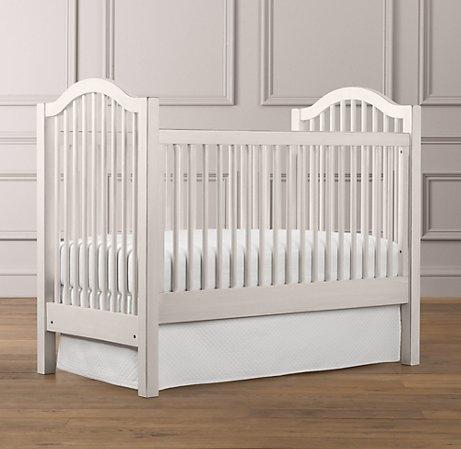Antique Spindle Crib  Restoration Hardware Baby  Child