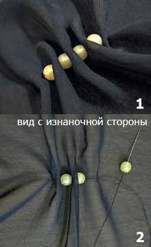 Perlas de cortinas, franja, Tucks, pliegues sus configuración | lecciones pokroyka.ru-corte y costura