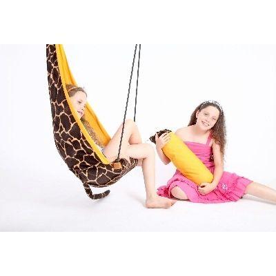 AZ 2030770 - Poltrona sospesa - per bambini - per interni e esterni - Hang Mini Giraffe - Amazonas Baby