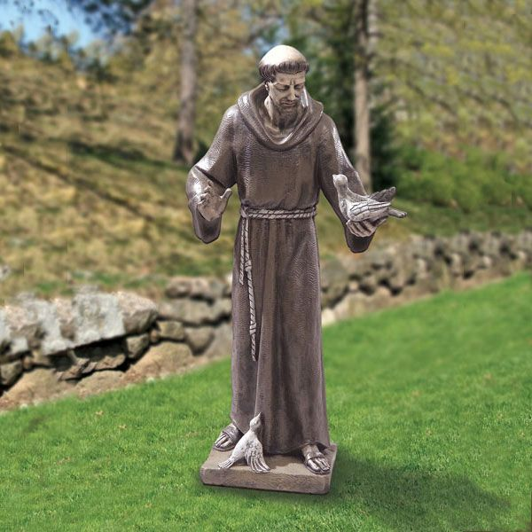 Garden Statue St Francis: 55 Best Religious Statues Images On Pinterest