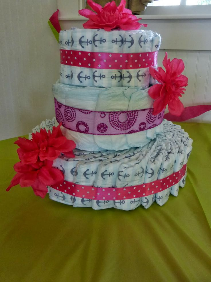 Diaper cake idea