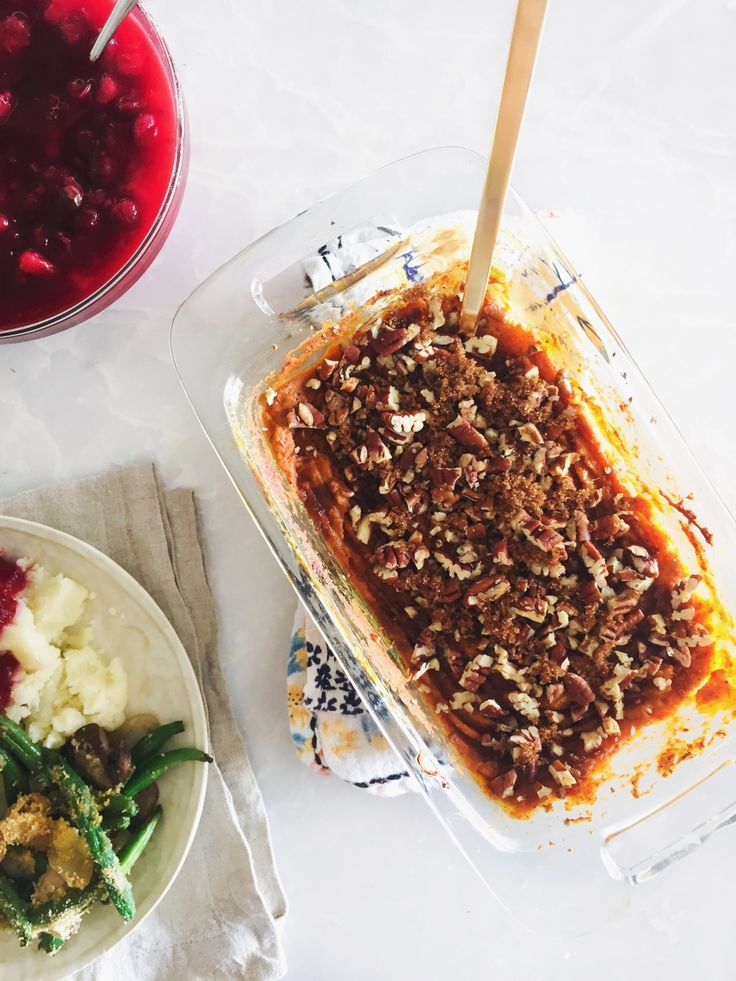 The BEST healthy side dishes for your Thanksgiving dinner! Tone It Up!