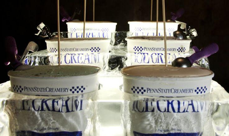 penn state ice sculpture for Berkey Creamery Ice Cream!!