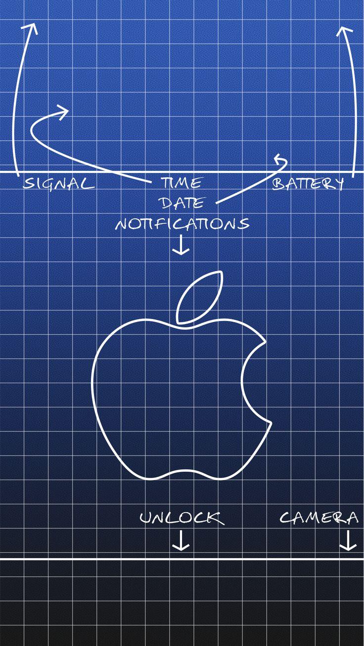 Unique wallpaper for you iPhone 6 Plus lockscreen
