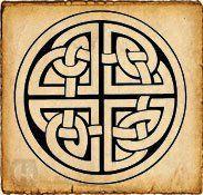 Nudo Perenne - Símbolos celtas - Representa la unión eterna, la imposibilidad de deshacer el lazo del amor más allá del tiempo y el espacio. En las bodas celtas se intercambian este símbolo en señal de su amor, con la confianza de que su unión será para siempre. La tradición dice que el nudo perenne evita que el amor sufra los desgastes del tiempo. Representa también el complemento, el apoyo y la fusión con la pareja.
