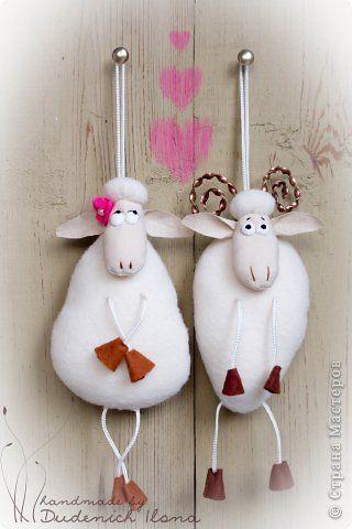 овечка и барашек