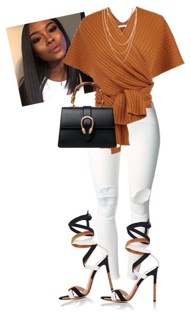 """""""Untitled #686"""" by cogic-fashion on Polyvore featuring (+) PEOPLE, Gianvito Rossi, Gucci and Forever 21"""
