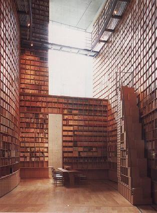 Shiba Ryotaro Memorial Museum, designed by ANDO Tadao, Japan 司馬遼太郎記念館 安藤忠雄設計
