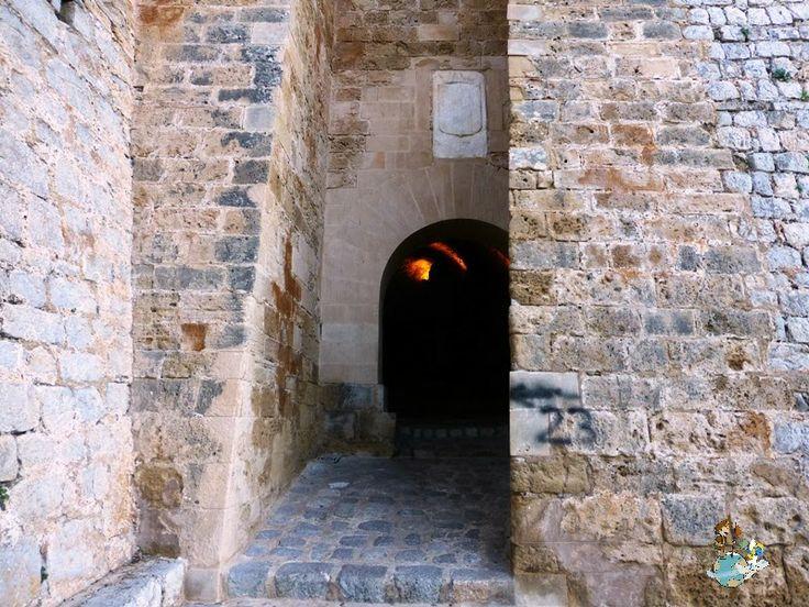 Portal Nou gate in Ibiza (Spain)