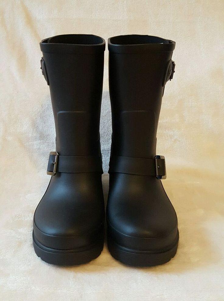 New Hunter Boots Biker Rainboots Shoes Black size 7 | Clothing, Shoes & Accessories, Women's Shoes, Boots | eBay!