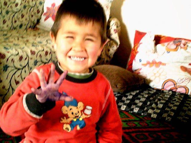 Блог мамы Гали: Птица счастья или как мы рисовали