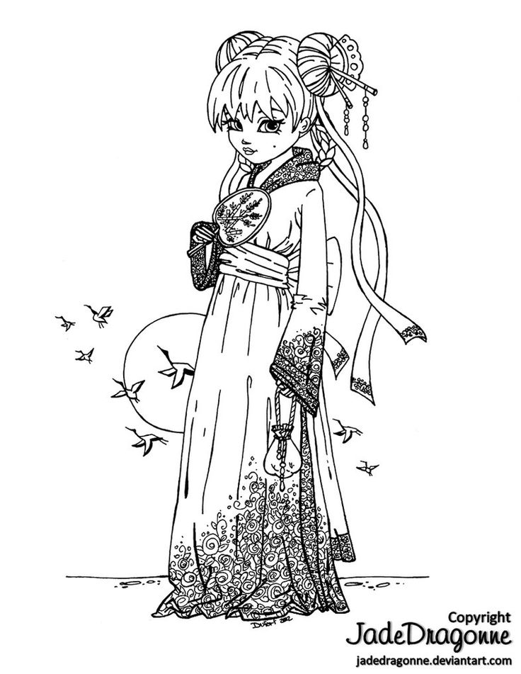 geisha coloring pages - 1000 ideas about geisha drawing on pinterest creative
