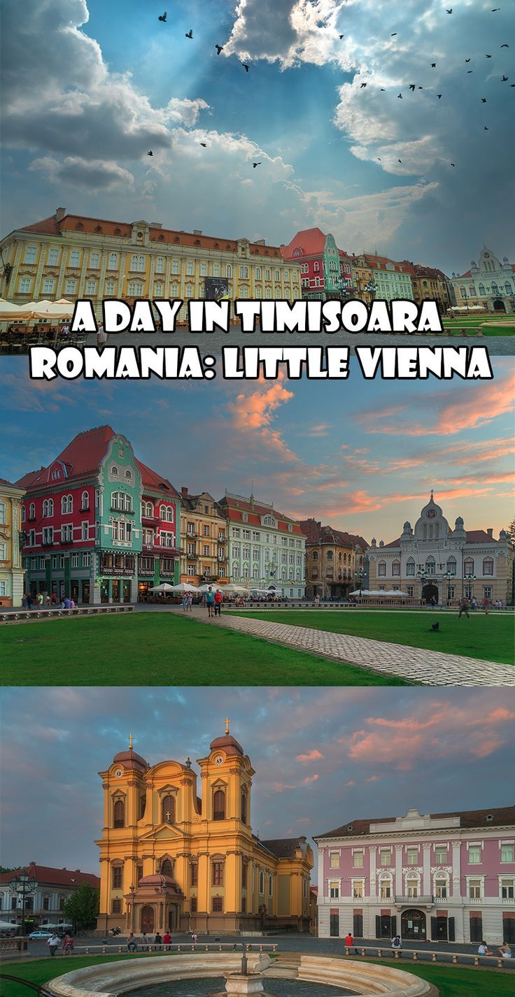 A Day in Timisoara Romania: Little Vienna.: