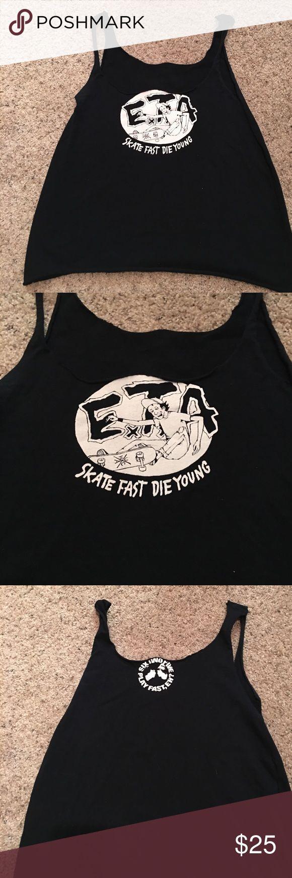ETA skate custom tank top ETA skate custom tank top band tshirts Tops Tank Tops