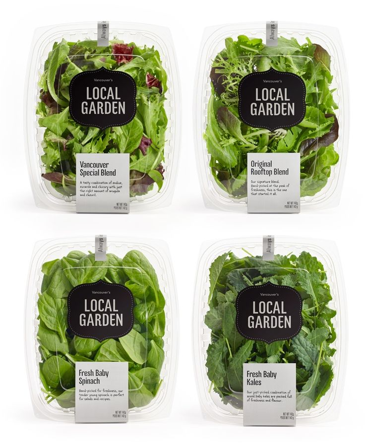 19 best salad package images on pinterest packaging for Local garden designers