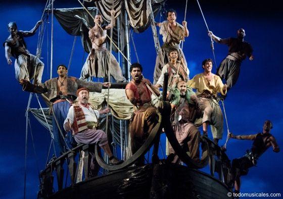 Mar i cel és una obra de teatre musical amb text de Xavier Bru de Sala i música d'Albert Guinovart, basada en l'obra d'Àngel Guimerà, que va ser portada al teatre per Dagoll Dagom l'any 1987, posteriorment l'any 2004 i per tercera vegada l'any 2014. És remarcable per l'espectacularitat de la seva escenografia, en la qual un vaixell enorme i mòbil presideix la majoria d'escenes.