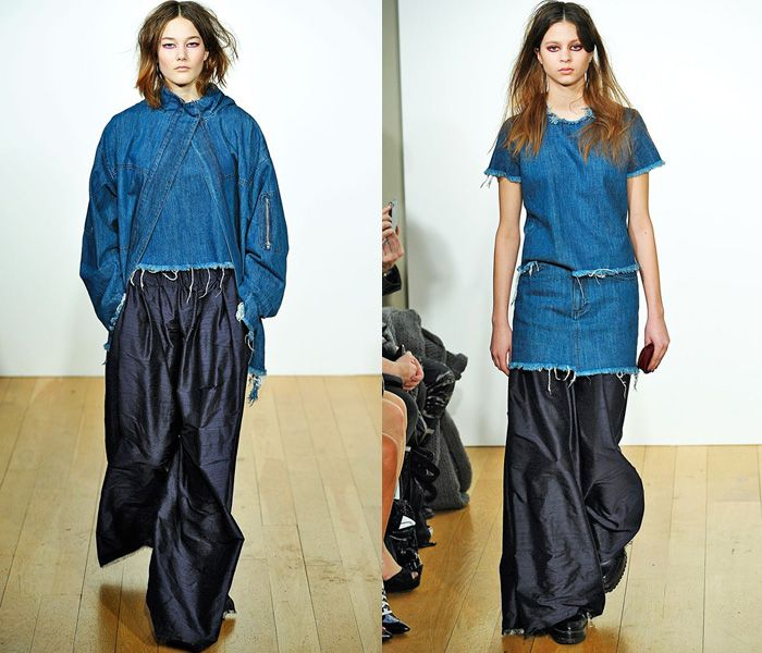 Marques' Almeida 2013-2014 Fall Winter Womens Runway Collection