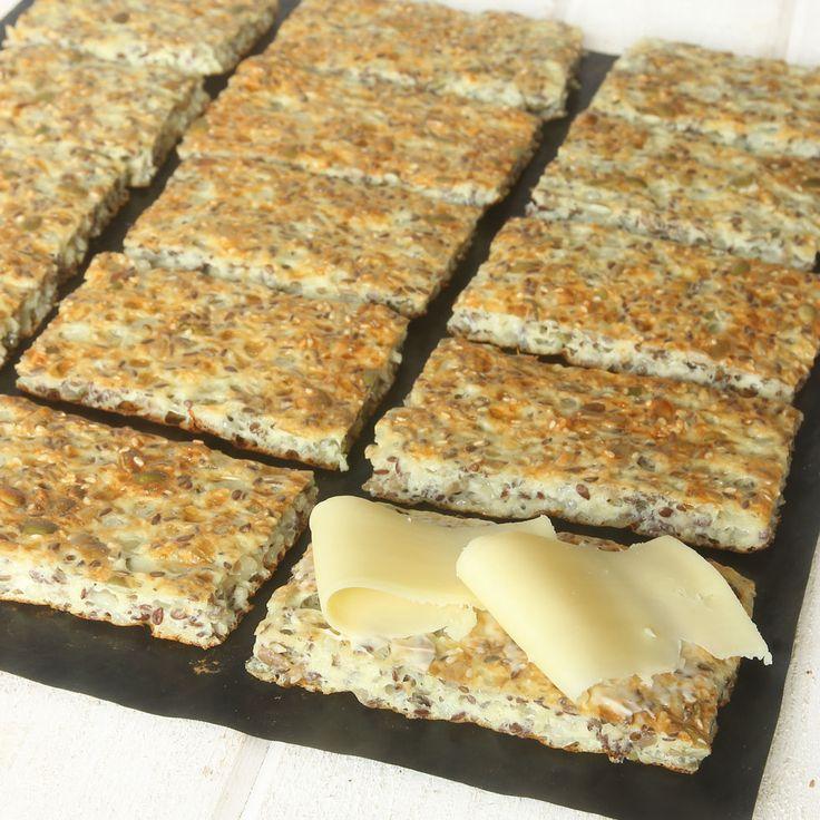 Brød uten hvetemel, laget med Keso® Cottage Cheese