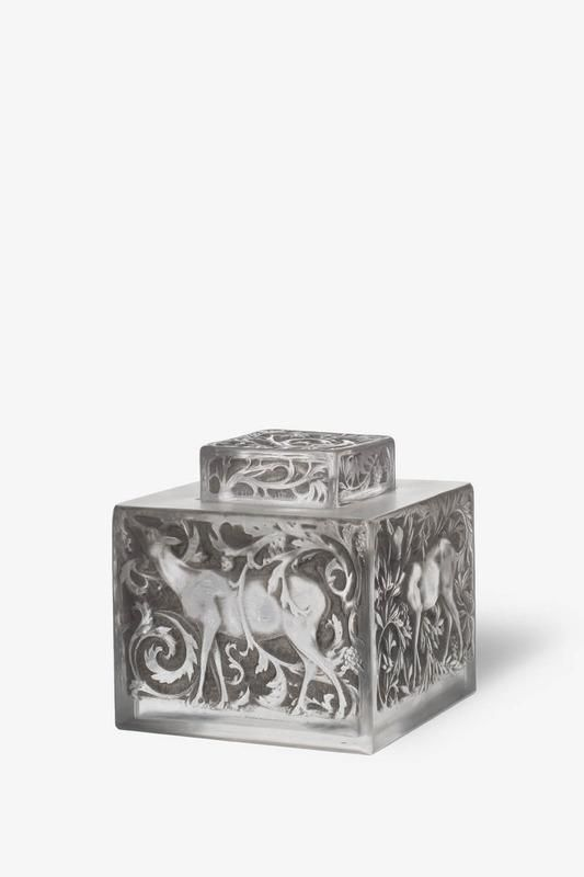 ❤ - René Jules Lalique |Encrier [Biches], by René Lalique, France circa 1913