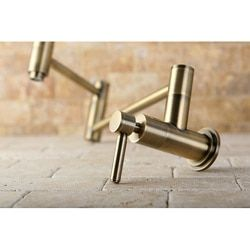 Shop for Concord Antique Brass Pot Filler Faucet. Get free shipping at Overstock.com - Your Online Home Improvement Outlet Store! Get 5% in rewards with Club O!