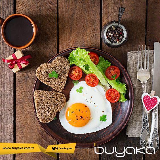 Günaydın. :) Kilo kontrolünü sağlamak için, günün en önemli öğünü kahvaltıyı atlamayın! #BuyakaBiBaşka #Kahvaltı #Sağlık #Öneri #BuyakaAvm