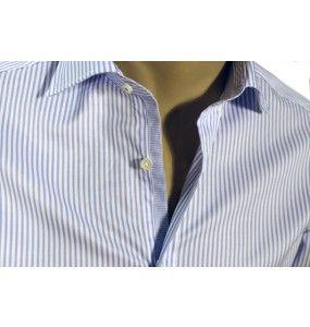 Camicia rigata con contrasti - Camicie & Co.