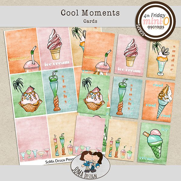 SoMa Design: Cool Moments - Cards